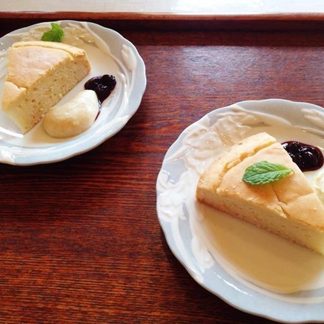 マクロビ 米粉100%ケーキ & 米粉カスタードソース風