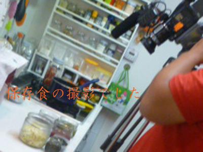 孫が喜ぶミラクルレシピ☆保存食・常備菜の撮影でした。