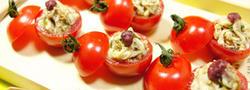 トマトの美味しさ満喫!お洒落なトマトファルシ