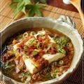 時短レシピ! 牛丼de時短肉豆腐