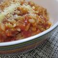 雑穀米トマトソースリゾット風♪