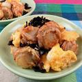 卵とベビーホタテの炒め料理おかずは味付けが「味ぽん」だけでOK! by 銀木さん