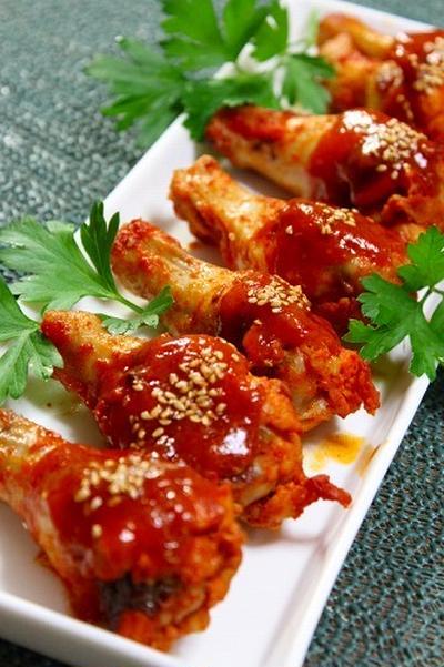 手作りコチュジャンで韓国三昧 ヤンニョムチキン