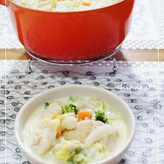 *とろ~り♪鶏むね肉と白菜のクリーム煮*