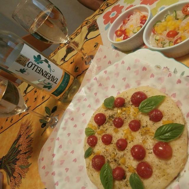 イタリア人気No.1ワイン タヴェルネッロと楽しむ!じゃがいもとミニトマトのフォカッチャ!