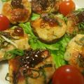 肉詰め椎茸とasianpopのリダ26