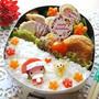 えのきde貝柱風フライ*サンタガールちゃんのお弁当