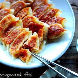ピリ辛おいしい!シャキシャキ食感の「キムチ餃子」を作ってみよう♪