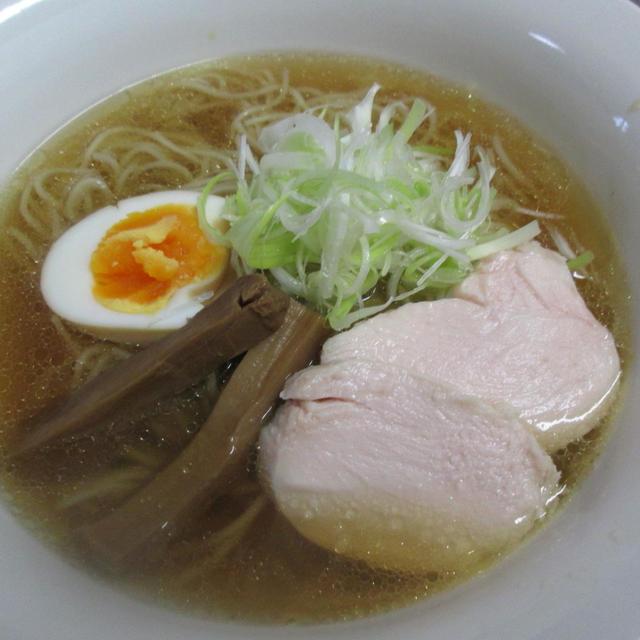 「淡麗鶏そば」の実食!