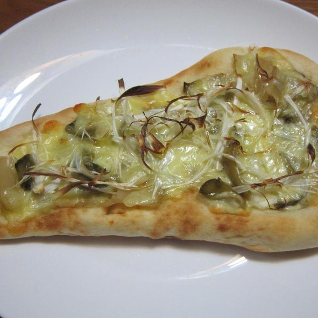 ザーサイナンピザ