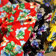 【しまむら】ケンゾーKENZO風花柄トップス色鮮やか