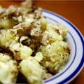 アンチョビとクリームチーズのポテトサラダ