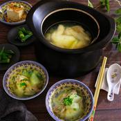 冬瓜と手羽先のスープ