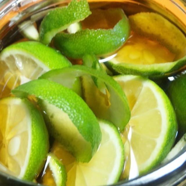 自家製<青柚子>フルーツブランデー