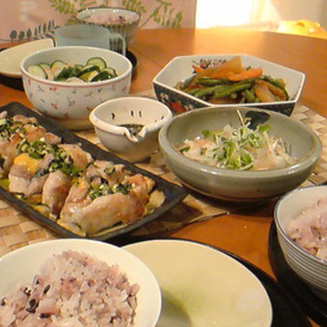 疲れも取れて美味しい和食ごはん。
