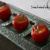 *トマトとモッツァレラのジュレ*