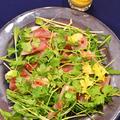 水菜と香菜のお造りサラダ