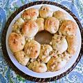 アップルパイみたいなクルミちぎりパン