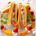 三角フルーツサンドケーキ by 杏衣◇さん