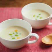 レシピブログ、冷製豆乳クリームパスタ&冷製豆乳クリームスープ