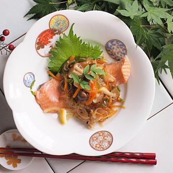 鮭の野菜あんかけ アイクック鍋ルシエ2使用