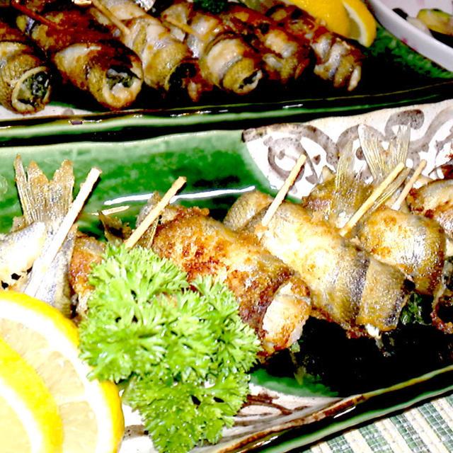 【レシピ】他のお魚でもアレンジ可能! チカのロール唐揚げ~大葉・長芋巻~
