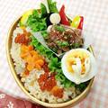 9・17 いくらご飯弁当~♪ by ささっちさん