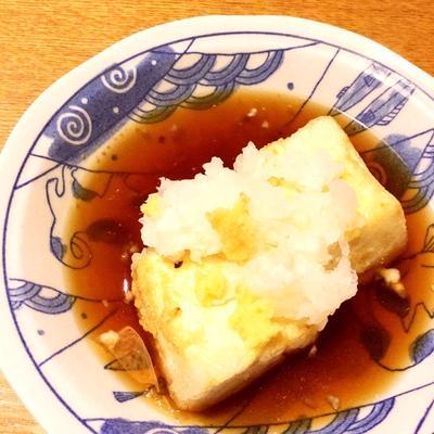 揚げだし豆腐☆