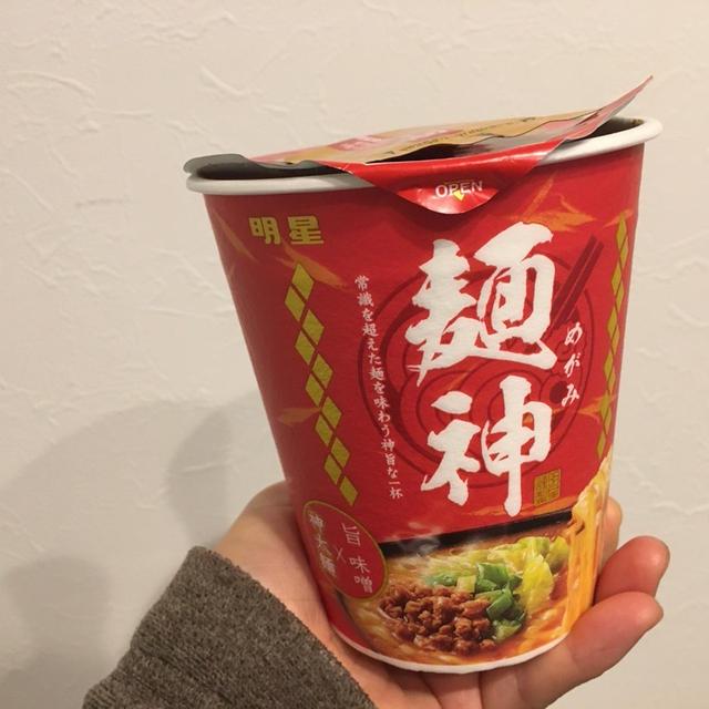 インスタントラーメン 麺神
