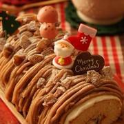 クリスマスウィーク☆モンブランロールケーキ