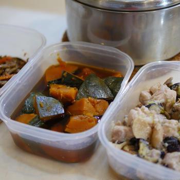 鶏炒め、きんぴら、煮物、鍋炊きごはん。4品同時並行調理。献立作りの手順を学ぶ、オンラインの料理塾。動画も限定公開中