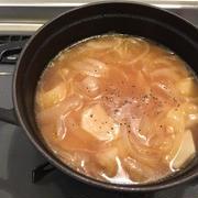 かぶの葉としらすのポン酢炒め