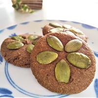 【美容おやつ】アーモンドフラワーで『まんまるココアクッキー』レシピ3種