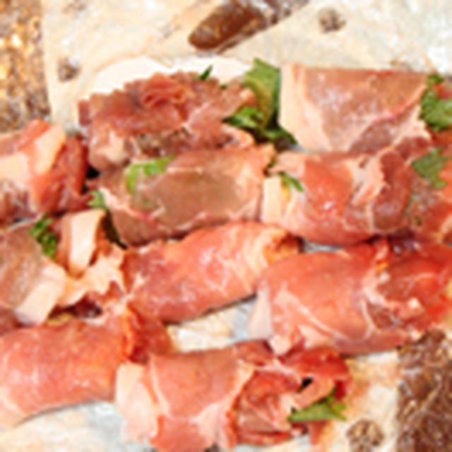 《包丁を使わない料理》★豚肉のチーズロール揚げ