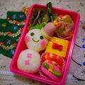 雪だるま弁当&レンコン饅頭弁当 by とまとママさん