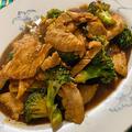 アメリカのファーストフード中華の定番 鶏むね肉とブロッコリーのオイスターソース炒め(Chicken and Brocolli Stir Fry)