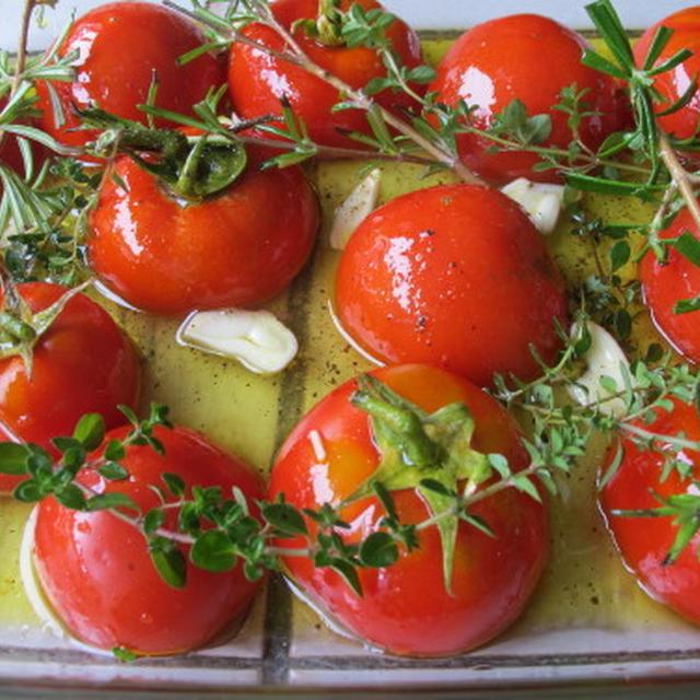 ロースト・トマト  8・6・2012