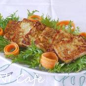 豆腐生姜焼きサラダ