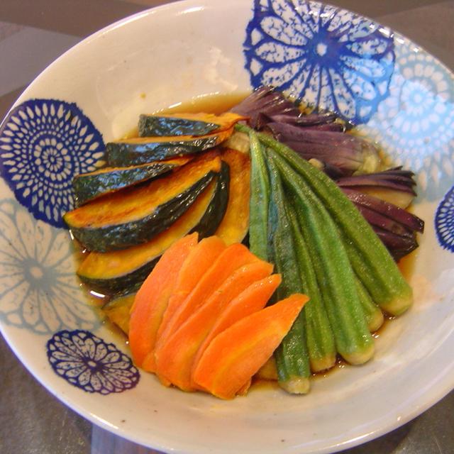 揚げ出し野菜
