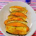 4種のペパーで鮮やか☆ズッキーニとかぼちゃの焼きマリネ