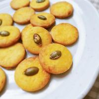 【かぼちゃおやつ】ほっくり甘さのかぼちゃクッキー