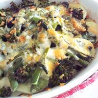野菜とツナのマヨチーズ焼き