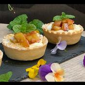 リンゴのキャラメルタルト「チーズクリーム入り」