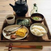 朝ごはんとお弁当(作り置き  残し物   2品)