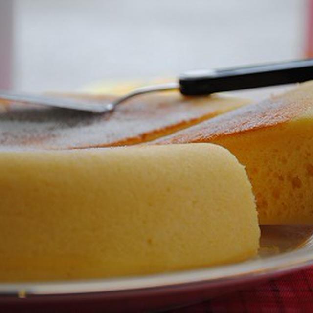 ホットケーキミックスで 炊飯器 チーズケーキ ☆
