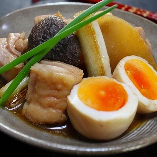 塩麹鶏と大根のこってり煮 つくレポの合体