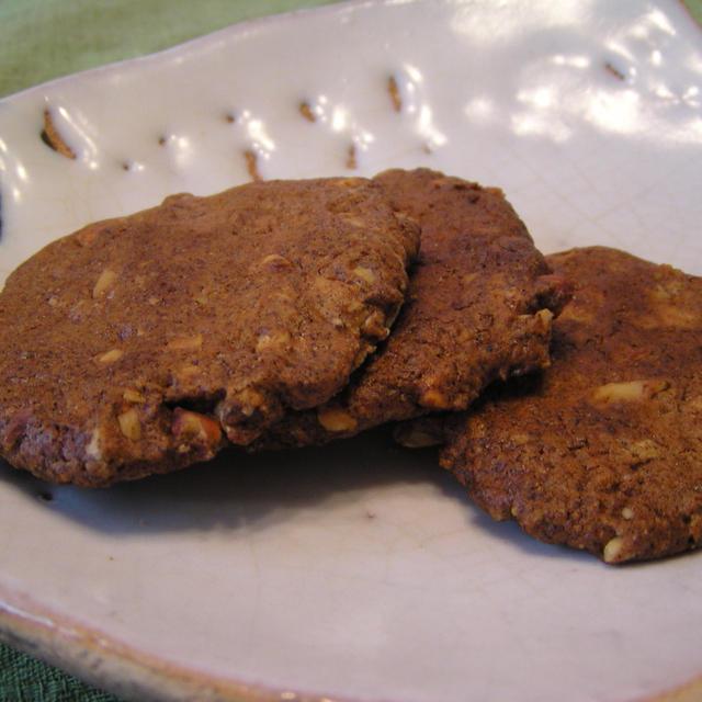 アーモンドのカリカリ味噌クッキー