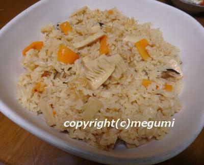 木の芽・筍の季節限定の2色そぼろご飯