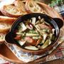 【レシピ】トースターで簡単♪きのことウインナーのアヒージョ