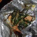 金山寺味噌で鮭のホイル焼き by ミホ@テニアンさん